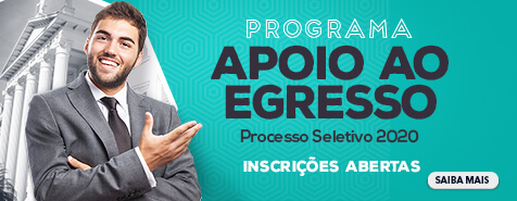 EDITAL DE SELEÇÃO PARA O PROGRAMA DE APOIO AO EGRESSO DE 2020