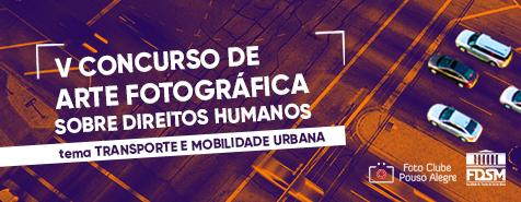 V CONCURSO DE ARTE FOTOGRÁFICA SOBRE DIREITOS HUMANOS