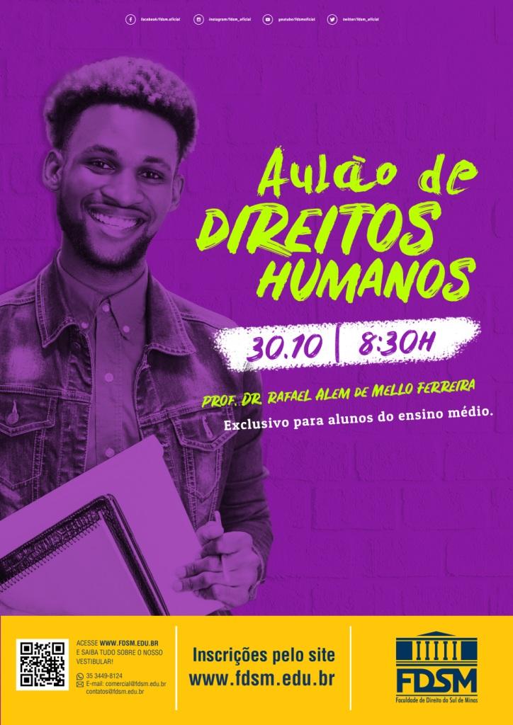 Aulão de Direitos Humanos