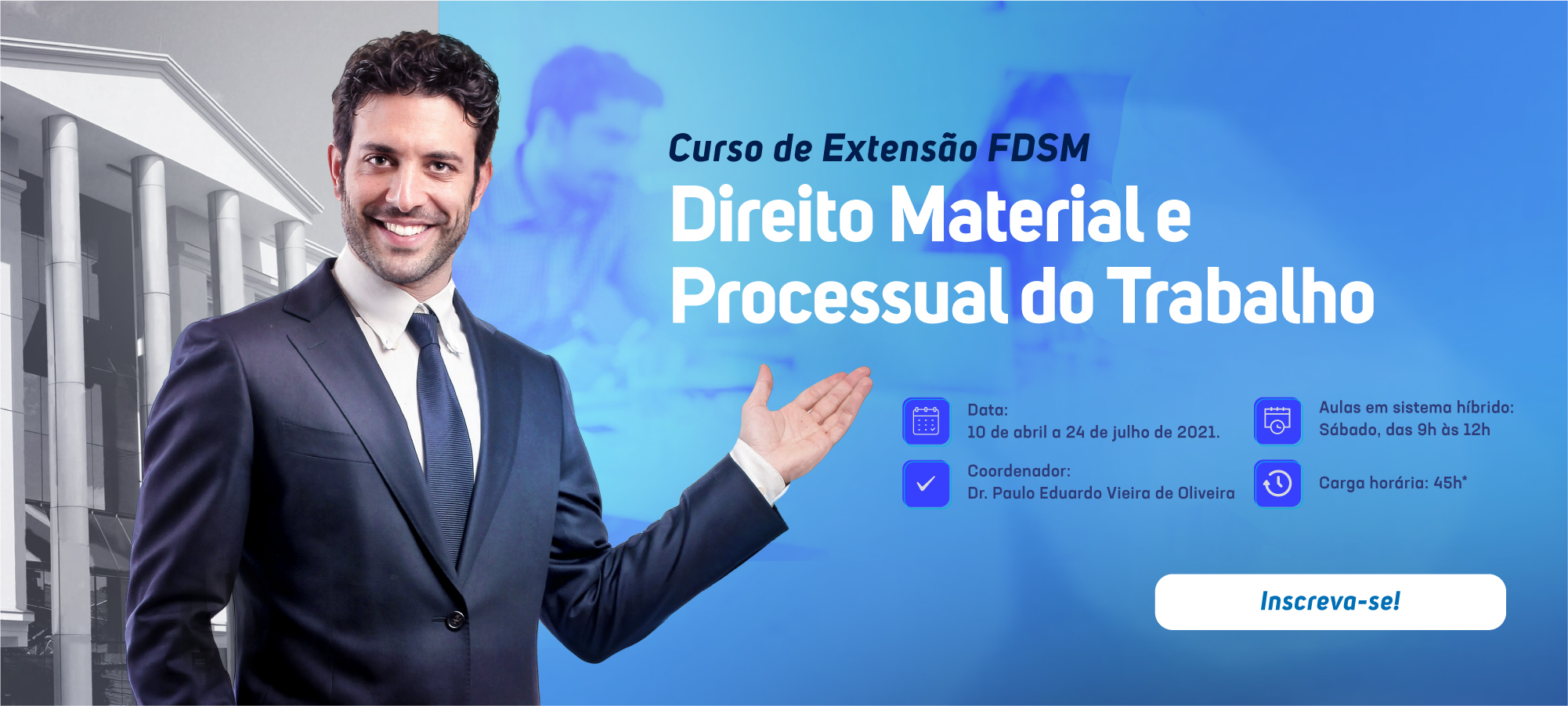 Extensão em Direito Material e Processual do Trabalho