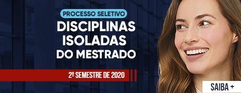 DISCIPLINAS ISOLADAS 2020/2
