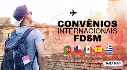 Convênios Internacionais FDSM