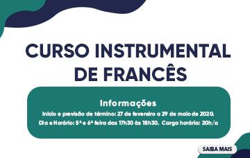 Curso Instrumental de Francês