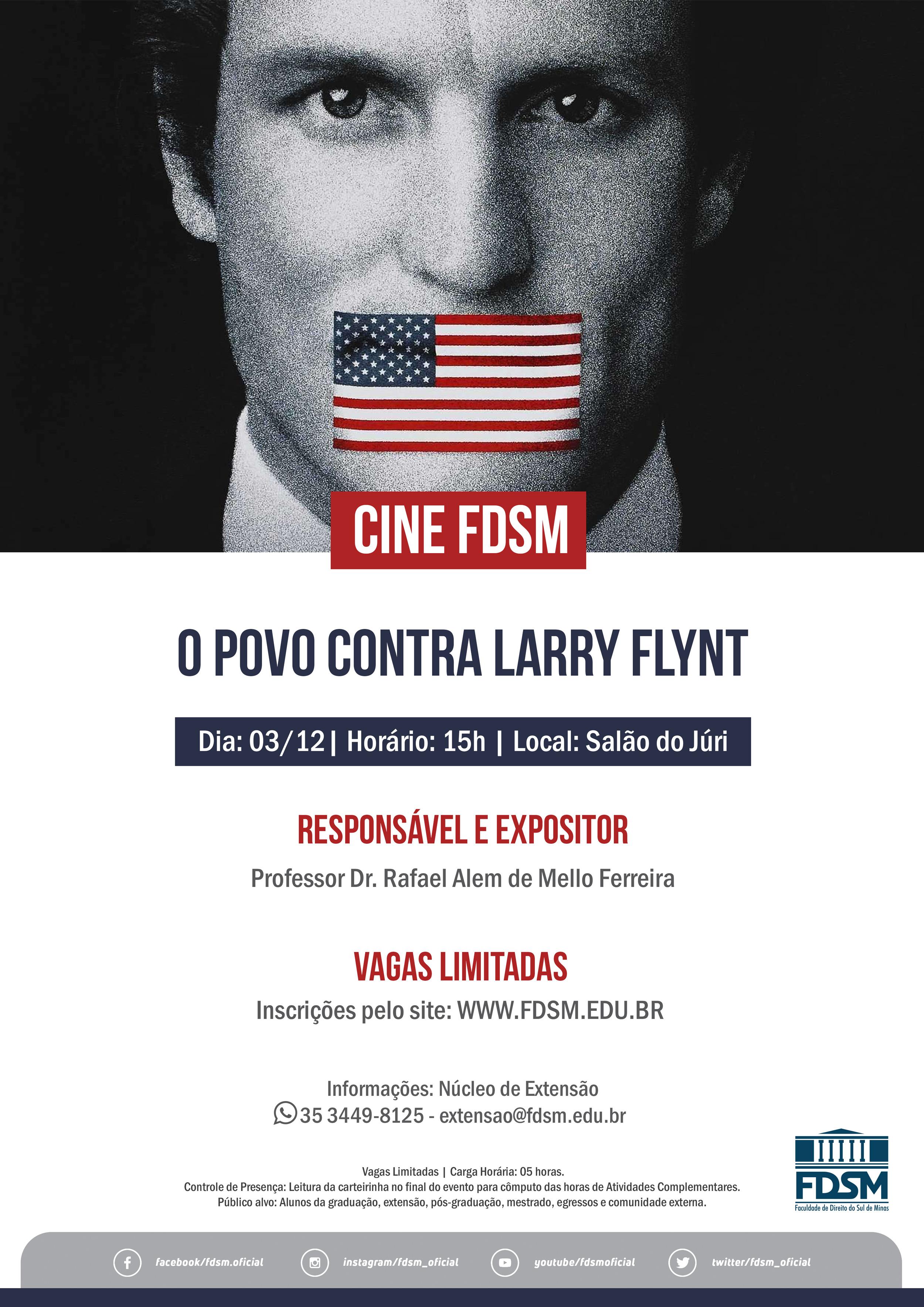 Cine FDSM - O Povo contra Larry Flynt