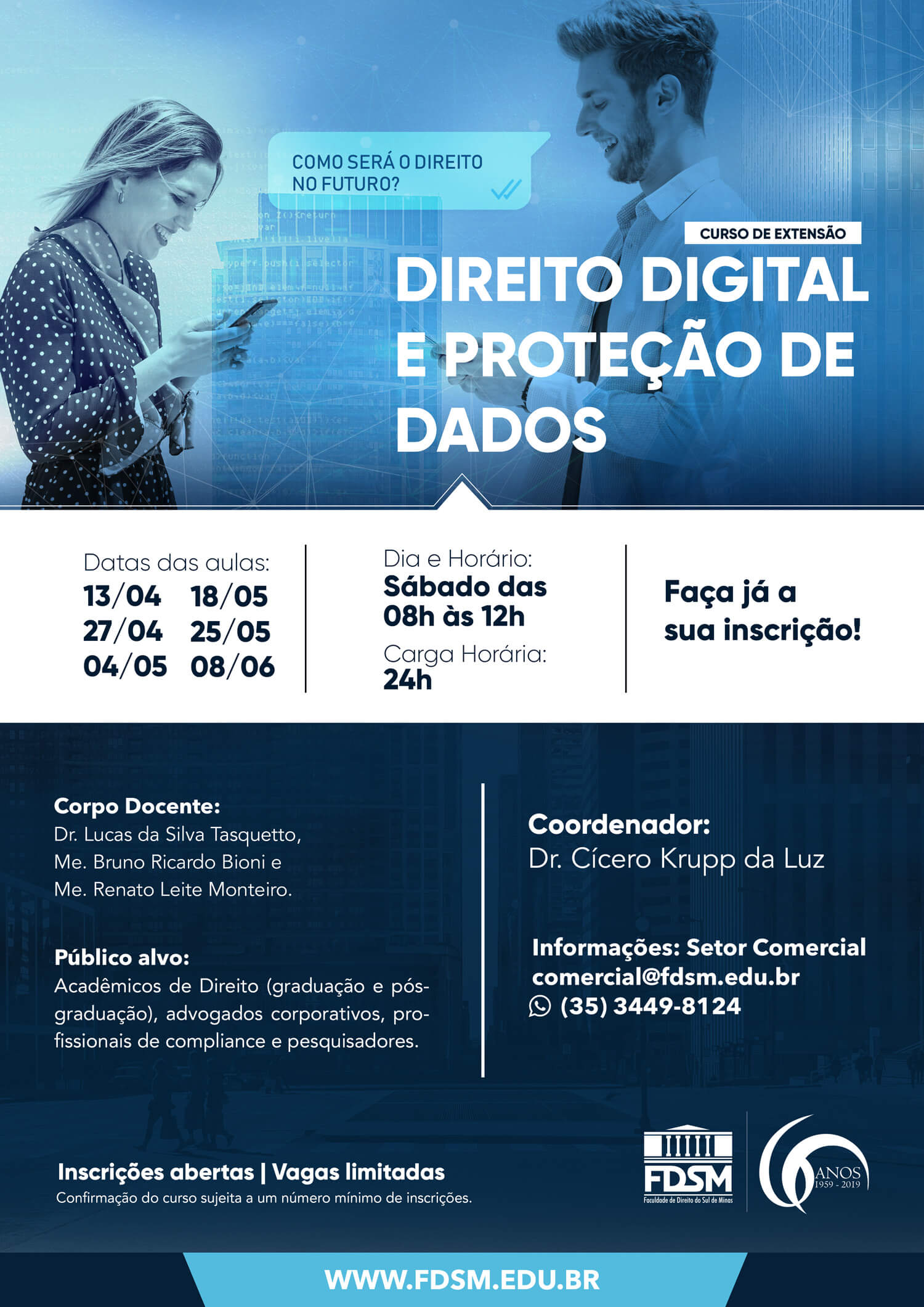 Cód 435: Curso de Direito Digital e Proteção de Dados