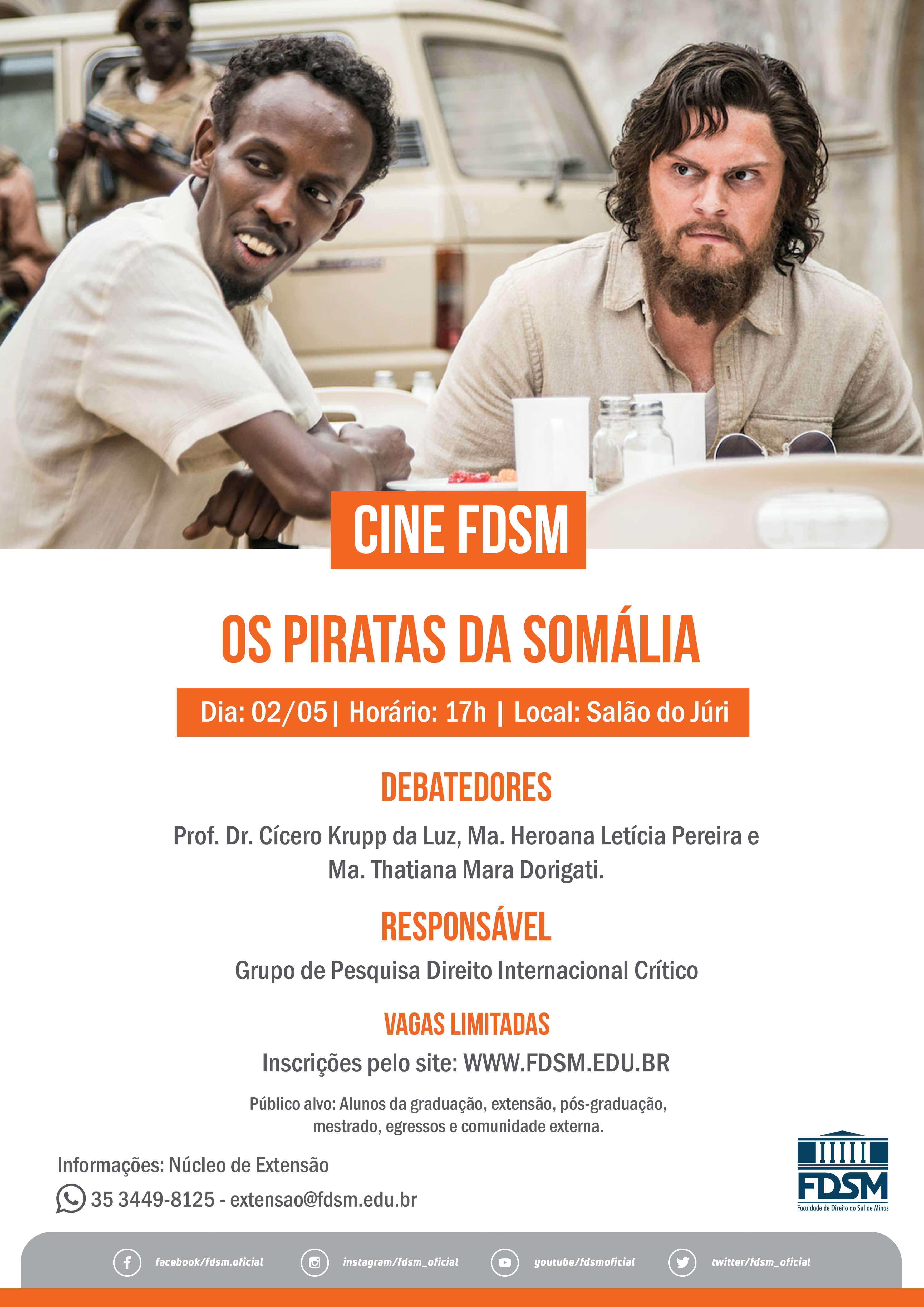 Cód 469: Cine FDSM - Os Piratas da Somália