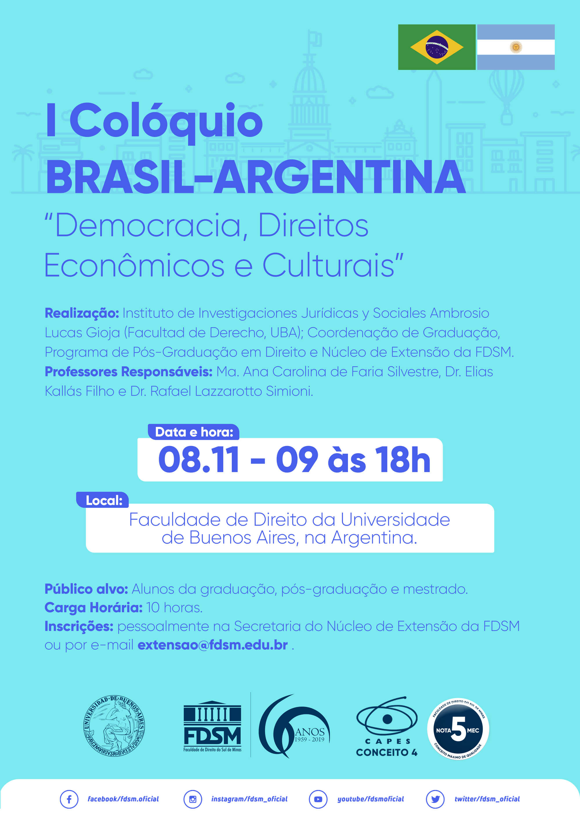 Cód 525: I Colóquio BRASIL-ARGENTINA