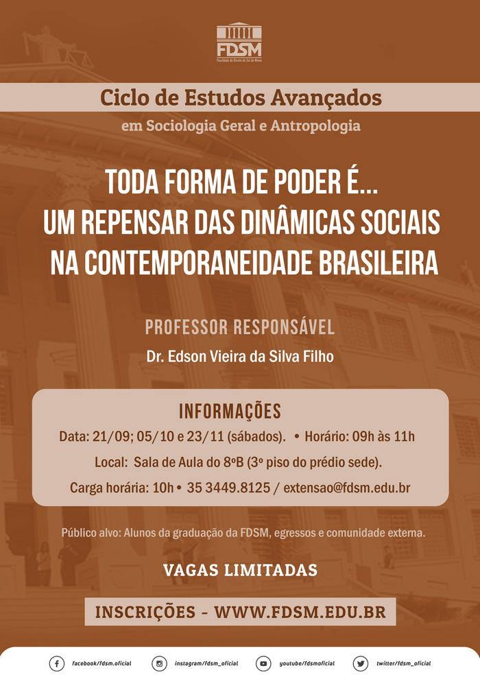 Cód 538:   Ciclo de Estudos Avançados em Sociologia Geral e...