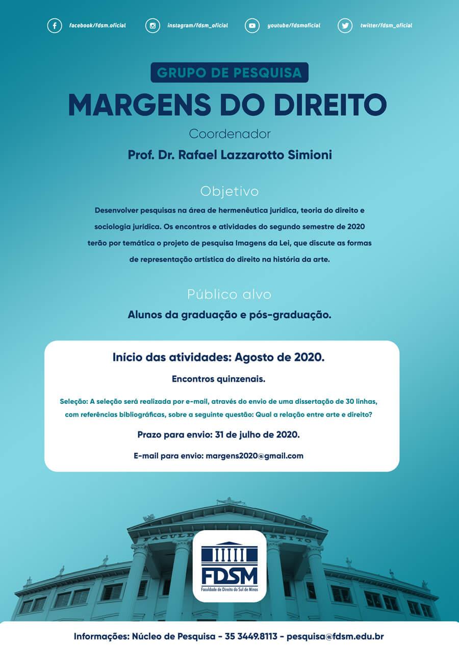 Cód 654: GRUPO DE PESQUISA MARGENS DO DIREITO