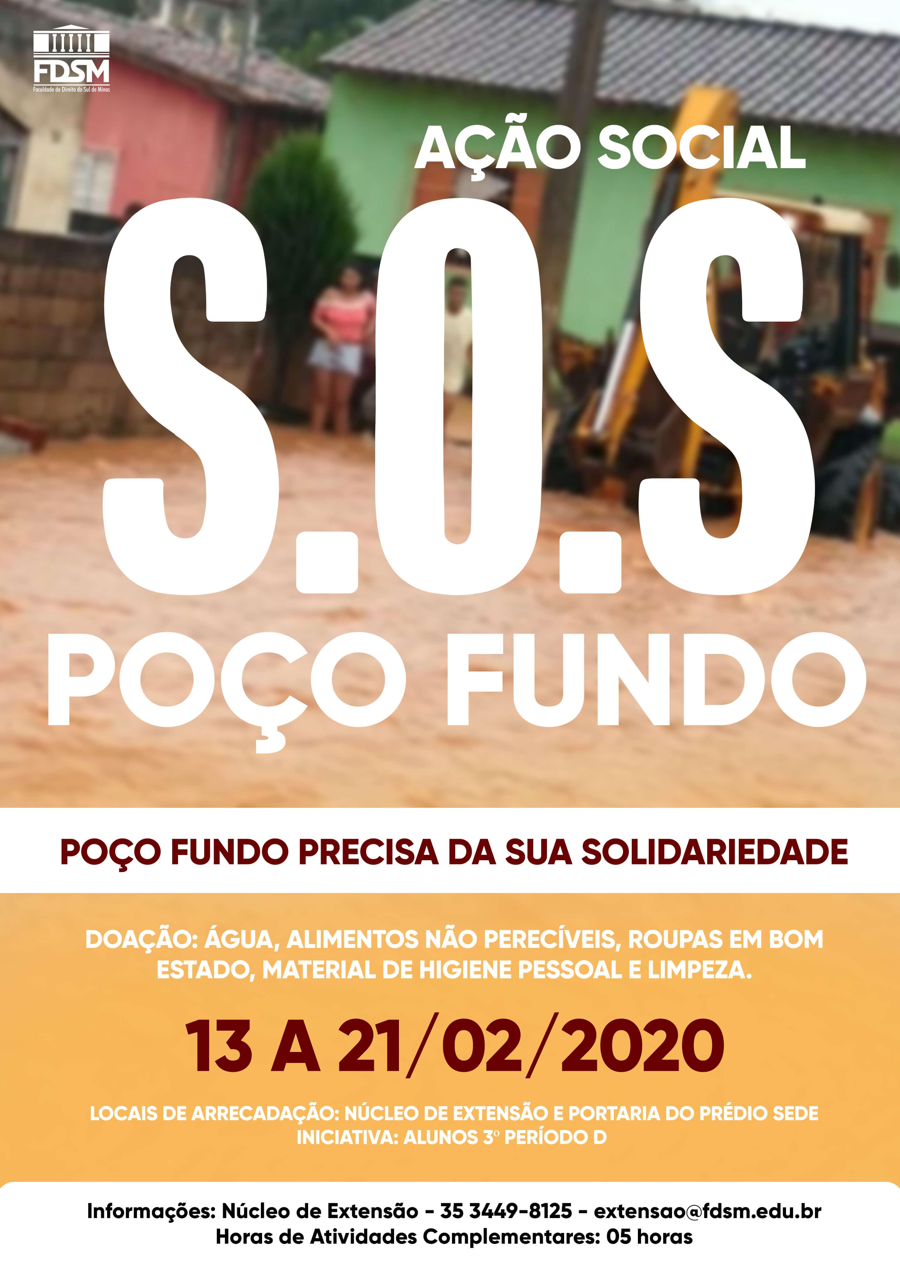 Noticia 6239 - AÇÃO SOCIAL SOS POÇO FUNDO