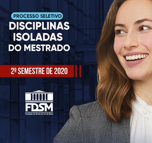 FDSM abre inscrições para o Processo Seletivo de Disciplinas Isoladas do Mestrado