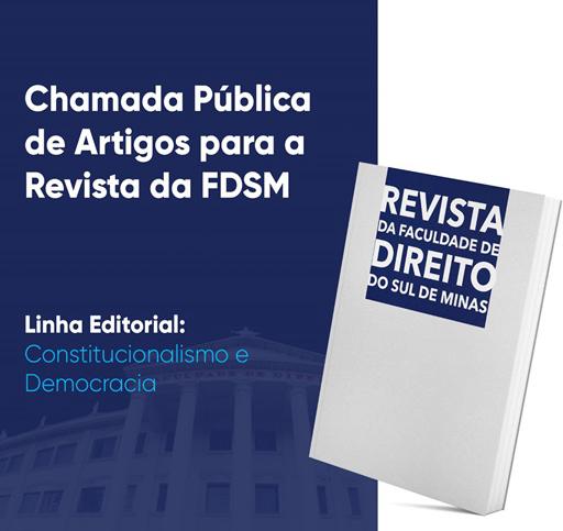 Noticia 6481 - CHAMADA PÚBLICA DE ARTIGOS PARA A REVISTA DA FDSM