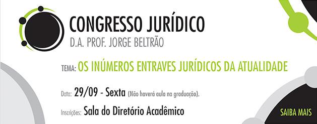 Congresso Jurídico do Diretório Acadêmico Professor Jorge Beltrão