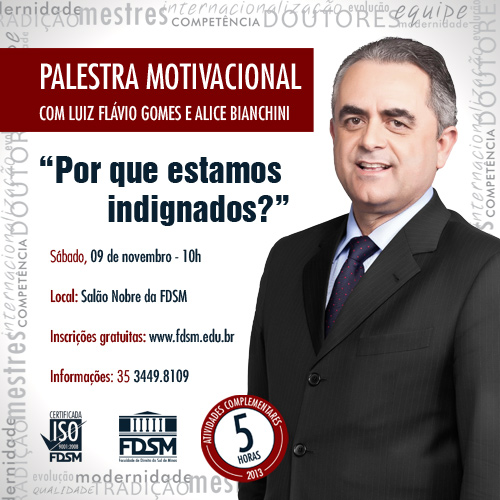 PALESTRA MOTIVACIONAL - LUIZ FLÁVIO GOMES E ALICE BIANCHINI