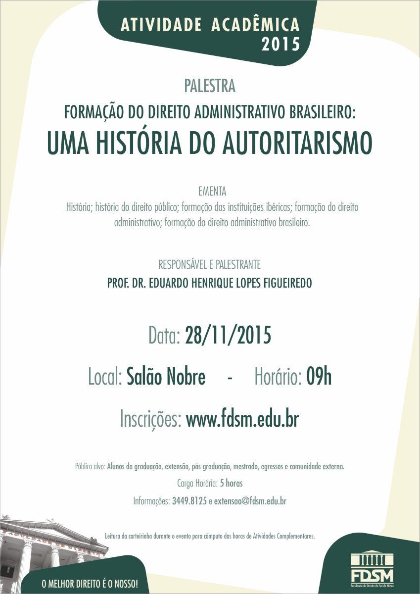 Formação do Direito Administrativo Brasileiro