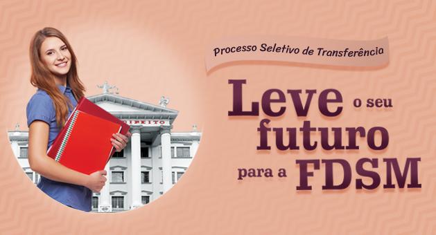 Leve o seu futuro para a FDSM