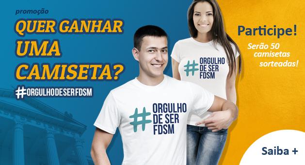 PROMO��O CAMISETAS ORGULHO DE SER FDSM