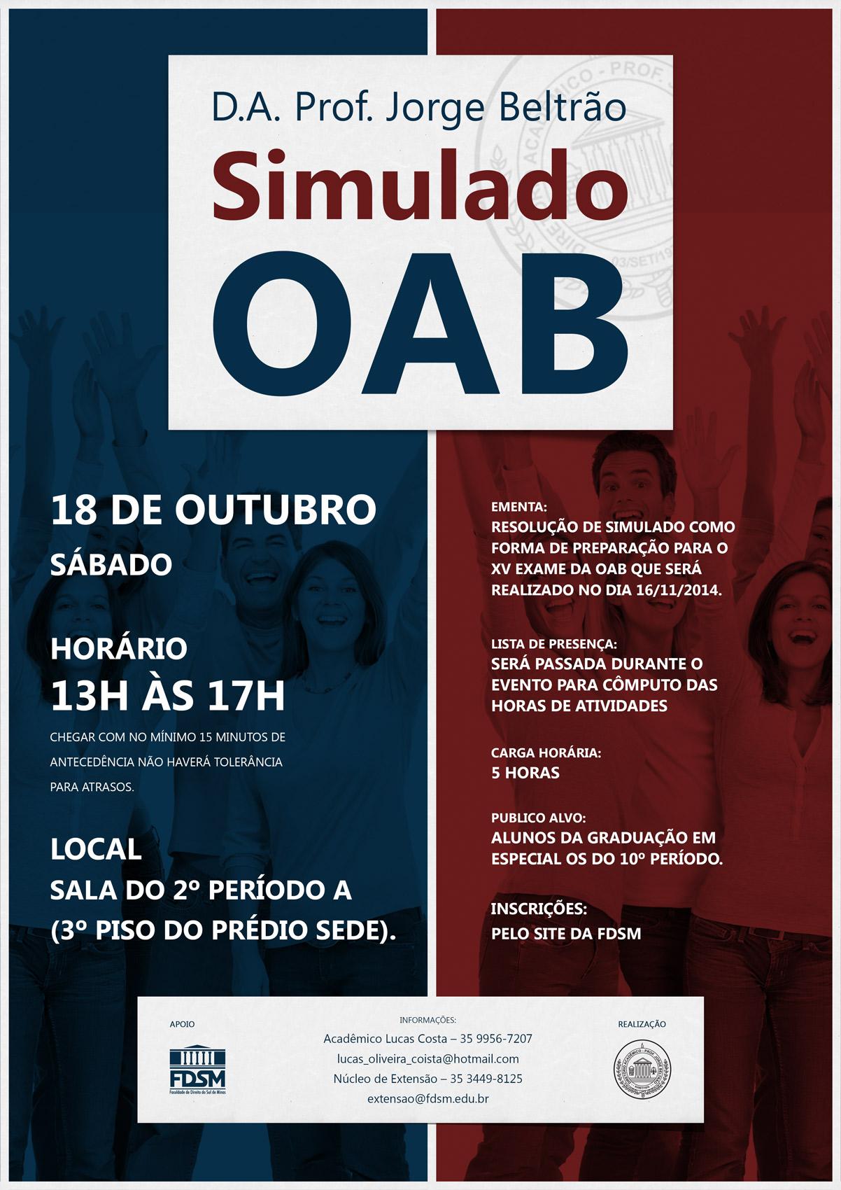 Simulado para a OAB
