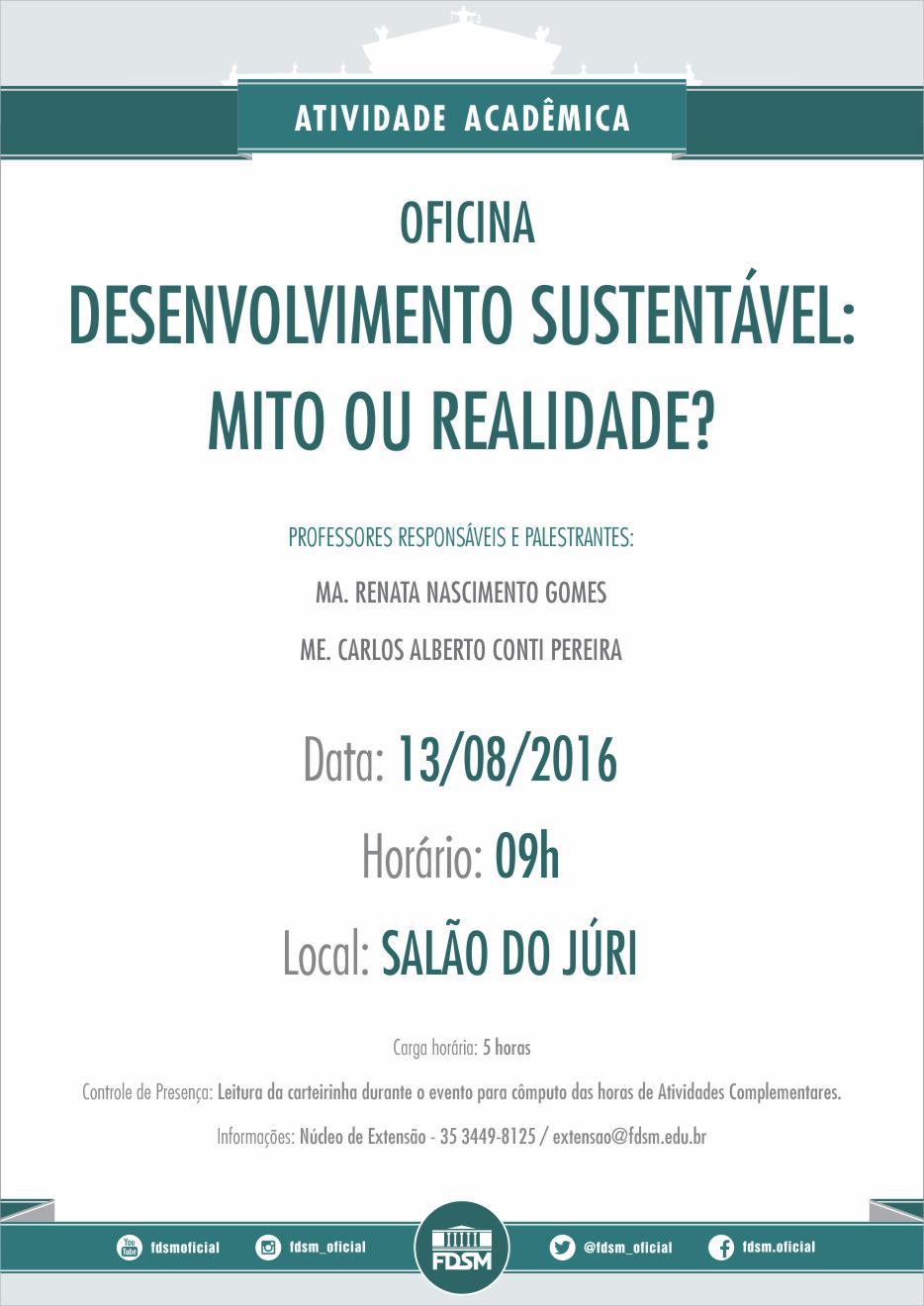 Cód 90: Desenvolvimento Sustentável: mito ou realidade?