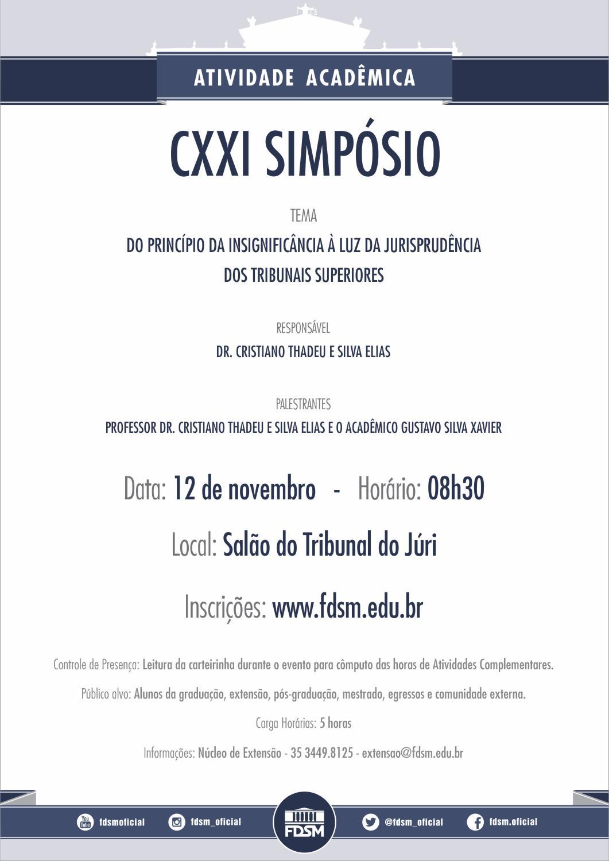 CXXI Simpósio