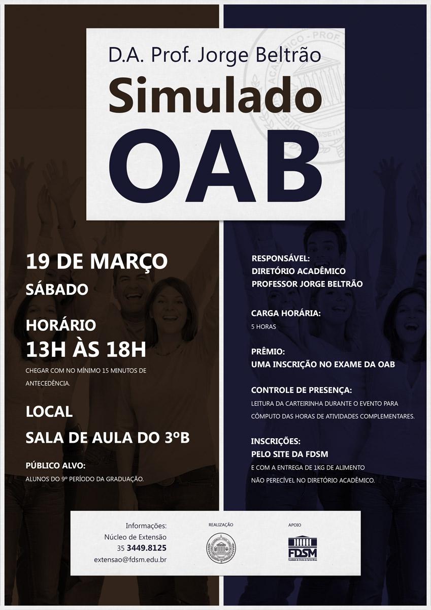 1º Simulado da OAB