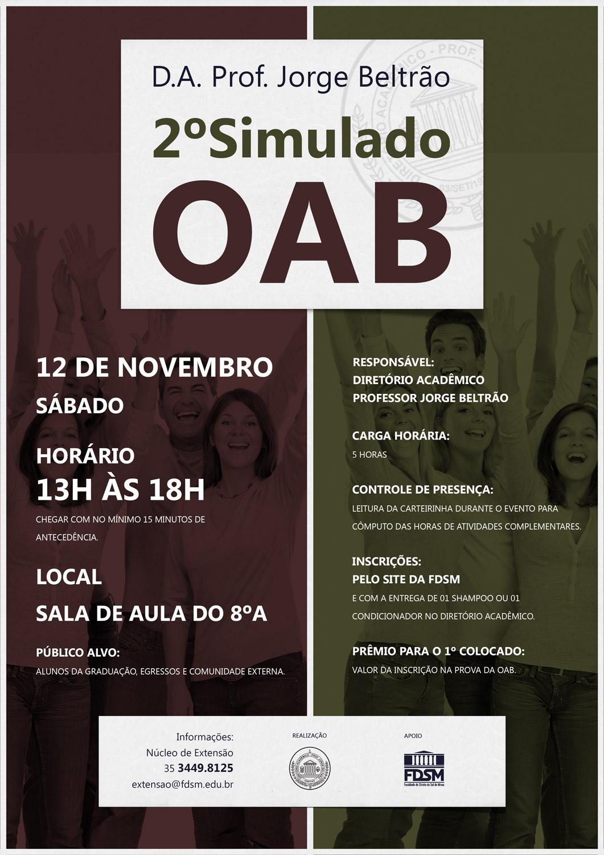 Cód 111: 2º Simulado da OAB
