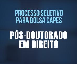 Noticia 2686 - FDSM ABRE INSCRIÇÕES PARA PROCESSO SELETIVO DE BOLSA PARA PÓS-DOUTORADO