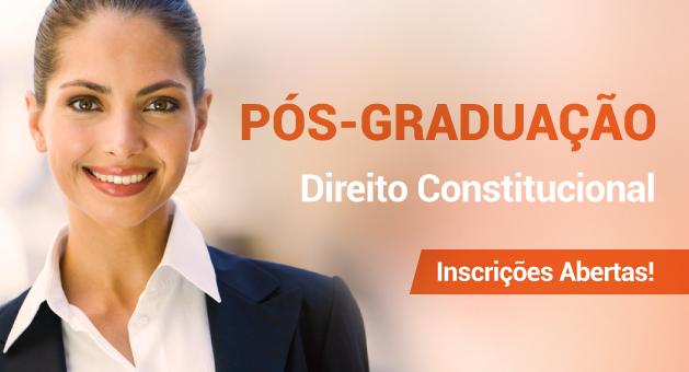 P�s-Gradua��o Lato Sensu em Direito Constitucional