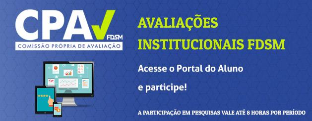 PARTICIPE DA AVALIAÇÃO INSTITUCIONAL 2017!